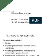 Aula 3 - Constituicao economica