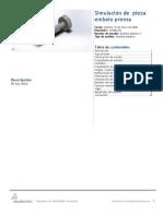 pieza embolo prensa-Análisis estático 1-1