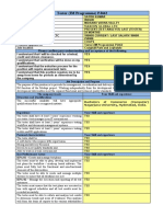 Job Specification TESTER Candidates Questionnaire PJ462