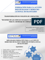 Diplomado Transformacion NO Violenta Conflictos