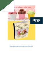 ➝ 50 Receitas de Sorvete - Livro Digital Sorvete Lucrativo