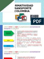 NORMATIVIDAD TRANSPORTE COLOMBIA - copia