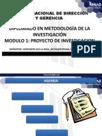 Taller en metodología de investigación