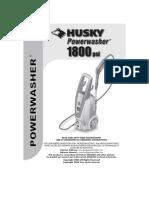 Husky1800 Power Washer