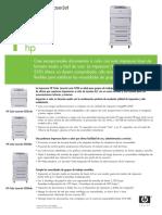 HP Laserjet 5550 Folleto