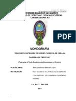 Monografia diseño curricular UMSA.pdf