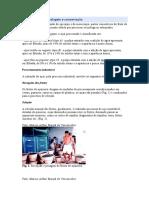 Processamento embalagem e conservação do açai