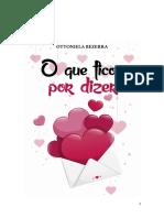 O QUE FICOU POR DIZER - OTTONIELA BEZERRA