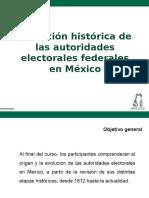 EVOLUCIÓN HISTÓRICA DE LAS AUTORIDADES ELECTORALES.ppt
