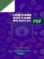 Low Carb Que Cabe No Bolso