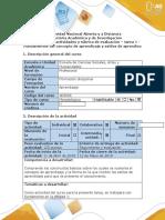 TAREA 1-Guía de actividades y rúbrica de evaluación – tarea 1 - Fundamentos del concepto de aprendizaje y estilos de aprendizaje. (2).docx