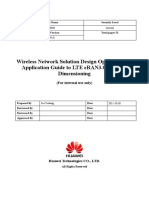 Wireless Network Solution Design Operation and Application Guide to LTE eRAN6.0 Network Dimensioning.docx