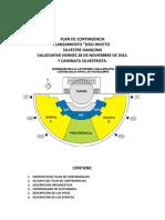 PLAN DE CONTINGENCIA LANZAMIENTO y caminata SIGO INVICTO VALLEDUPAR SILVESTRE DANGOND 28 DE NOV DE 2014.doc