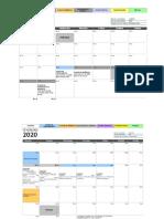 Calendário Acadêmico 2020 (atualizado 26.04.2020)