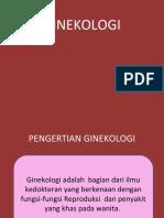 ruang lingkup ginekologi