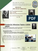 Analisis de Taylor y Fayol