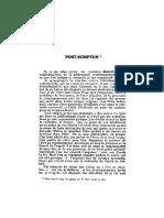 1962 Andre Marc - Post Scriptum 10p
