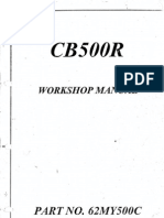 CB500R Workshop Manual