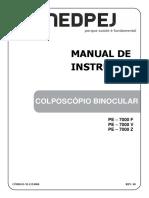 colposcopio M INST. PE 7000 rev 00