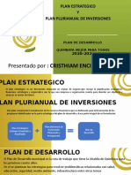 plan plurianual de inversiones