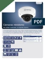 BX-Range_BX420_Minidome-Cameras_Datasheet-A4_Spanish