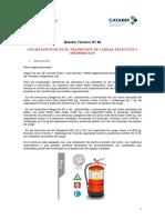 CIPET - Boletin Técnico Nº 48 - Matafuegos en El Transporte de Cargas - Seleccion y Distribucion
