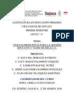 ACTIVIDAD II. INSTRUMENTOS DE OBSERVACIÓN Y ENTREVISTAS JCVM