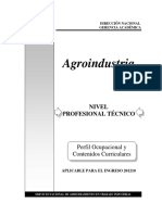 Agroindustria 201210