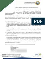 ACTA DE COMPROMISO PAGO MATRICULA - ESTUDIANTE PREGRADO UNIATLANTICO