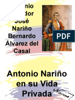 DIAPOSITIVAS ANTONIO NARIÑO