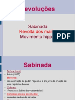 Revoluções- 7ª A
