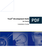 Toad for Oracle Development Suite Installation Guide