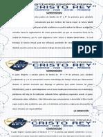 COMUNICADOS 2020-MODALIDAD VIRTUAL