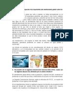 Informe Cambios Climáticos en Colombia ecosis