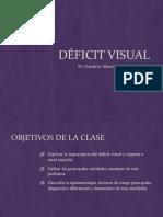 Visual Deficit