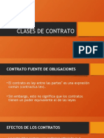 CLASES DE CONTRATO