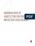 7. MODERNIZATION OF ARGICULTURE FOR CROP PROTECTION USING SENSORS