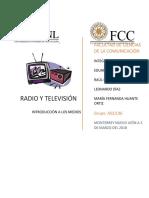 La radio y tv