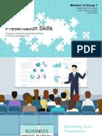 Group 1-Presentation Skills