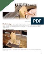 Handsaw Restoration