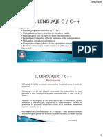 C03 - Lenguaje C++ Complemento 1