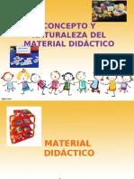 Concepto y naturaleza del material didáctico 8 de febrero
