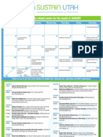 Sustain Utah Calendar Jan 2011