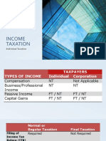 TAX_Individual Taxation