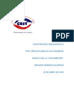PSICOTÉCNICA PEDAGÓGICA II ensayo.docx