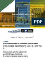 PPT 1º Ayudantia, Razones, proporciones y porcentajes