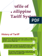 Prelim-1-Profile-of-Philippine-Tariff-System