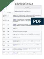 Estándares IEEE 802.3 y .11