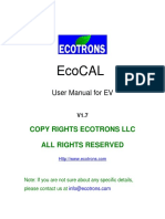 EcoCAL_manual_for_EV