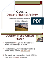 Obesity- Diet and Exercise
